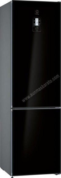 Frigorifico combi Balay 3KFE768BI NoFrost Cristal negro 203cm A