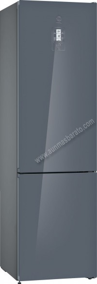 Frigorifico combi Balay 3KFE768GI NoFrost Cristal Gris 203cm A