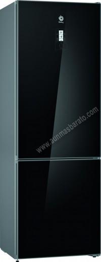 Frigorifico combi Balay 3KFE778BI NoFrost Cristal negro 203cm A