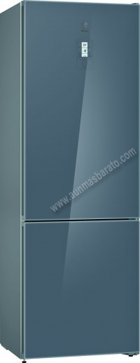 Frigorifico combi Balay 3KFE778GI NoFrost Cristal Gris 203cm A