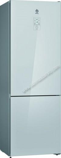 Frigorifico combi Balay 3KFE778WI NoFrost Cristal Blanco 203cm