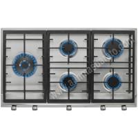 Placa de gas Butano Teka EX 90.1 5G AI AL DR CI LEFT Inox 86cm