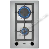 Placa modular de gas Butano Teka EFX 30.1 2G AI AL CI Inox 30cm