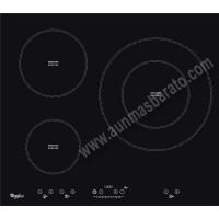 Vitroceramica induccion Whirlpool ACM332BA 3 zonas 60cm