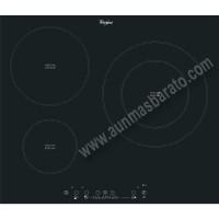 Vitroceramica induccion Whirlpool ACM865BA 3 zonas 60cm