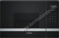 Microondas integrable con grill Siemens BE525LMS0 Cristal negro e Inox