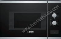 Microondas Integrable Bosch BFL520MS0 Cristal negro e Inox