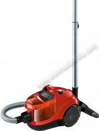 Aspirador sin bolsa Bosch BGC1U300 Rojo