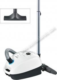 Aspirador con bolsa Bosch BGL3HYG GL30 Blanco