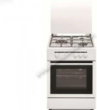 Cocina Tradicional Vitrokitchen CB5530BB 3 zonas gas Butano Blanca