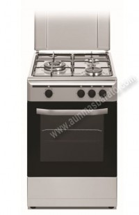 Cocina Tradicional Vitrokitchen CB5530IB 3 zonas gas Butano Inox
