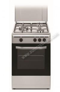 Cocina Tradicional Vitrokitchen CB5530IN 3 zonas gas Natural Inox