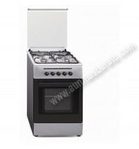 Cocina Tradicional Vitrokitchen CB55IB 4 zonas gas Butano Inox