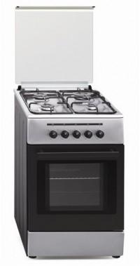 Cocina Tradicional Vitrokitchen CB55IN 4 zonas gas Natural Inox