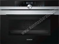 Horno multifunicon Siemens CB635GNS3 Cristal negro e inox 45cm A
