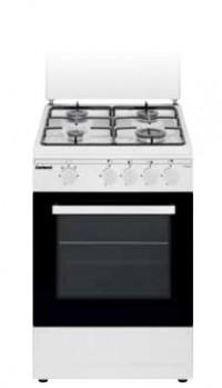 Cocina tradicional Corbero CCSF45020BW Blanca 4 zonas gas Butano