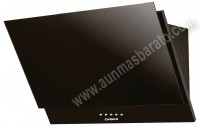 Campana decorativa Corbero CCSP10090PGL Cristal negro 90cm