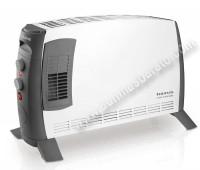 Termoconvector portatil Taurus ClimaTurbo2000 2000W Blanco y negro