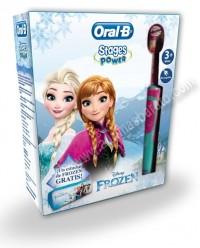 Cepillo de dientes electrico Braun OralB D12 Stages Frozen y estuche