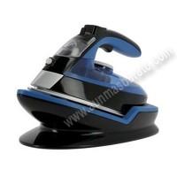Plancha Rowenta DE5010D1 Freemove 2400W Negra y azul