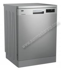 Lavavajillas Beko DFN28430X Inox antihuellas 14 servicios 60cm A