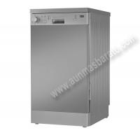 Lavavajillas Beko DFS05013X Inox antihuellas 10 servicios 45cm A