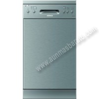 Lavavajillas Edesa EDW4592X Inox antihuellas 9 servicios 45cm A