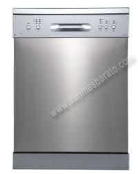 Lavavajillas Edesa EDW6121X Inox antihuellas 12 servicios 60cm A