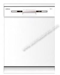 Lavavajillas Edesa EDW6122WH Blanco 12 servicios 60cm A