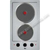Placa modular electrica Teka EFX 30.1 2P-T Inox 30cm 2 zonas