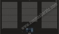 Vitroceramica induccion Siemens EX975KXW1E 90cm 3 zonas