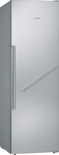Congelador vertical Siemens GS36NAI4P NoFrost Inox 186cm A