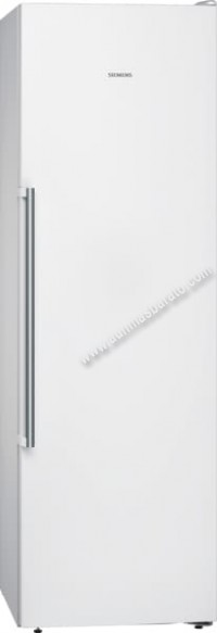 Congelador vertical Siemens GS36NAWEP NoFrost Blanco 186cm A