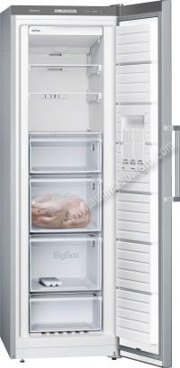 Congelador vertical Siemens GS36NVI3P NoFrost Inox 186cm A