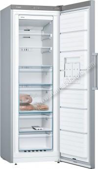 Congelador vertical Bosch GSN33VL3P NoFrost Inox Mate 176cm A