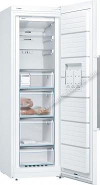 Congelador vertical Bosch GSN36BW3P NoFrost Blanco 186cm A
