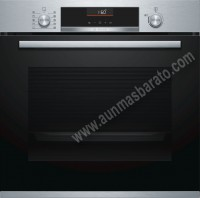 Horno Multifuncion Bosch HBA5360S0 Cristal negro e inox A
