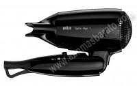 Secador de pelo Braun HD130 Negro Style Go plegable