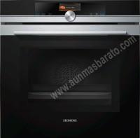 Horno Pirolitico con microondas Siemens HM676G0S6 Cristal negro e Inox