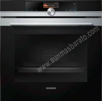 Horno multifuncion con Vapor Siemens HS636GDS2 Cristal negro e Inox