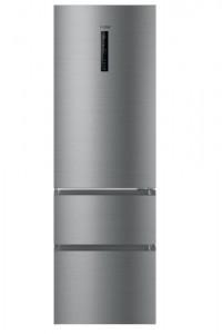 Frigorifico combi Haier HTR3619ENMN NoFrost Silver 190cm A