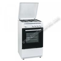 Cocina tradicional Hyundai HYCO448BB Blanca 4 zonas Gas Butano