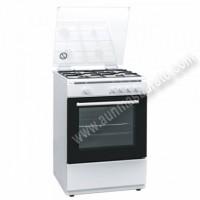 Cocina tradicional Hyundai HYCO648BEB Blanca 4 zonas
