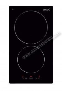 Encimera Modular de Induccion Cata IB 3102 BK 2 zonas 30cm
