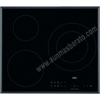 Vitroceramica induccion AEG IKB63301FB 3 zonas 60cm