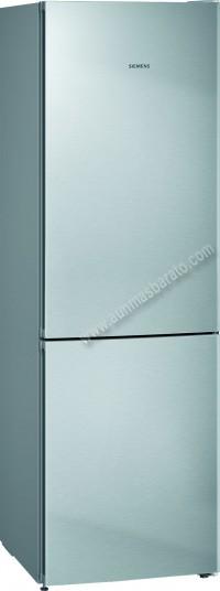 Frigorifico combi Siemens KG36NVIDA NoFrost Inox 186cm A