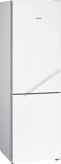 Frigorifico combi Siemens KG36NVWDA NoFrost Blanco 186cm
