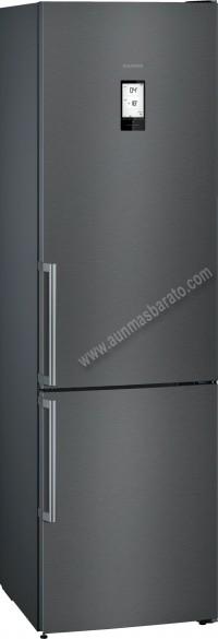 Frigorifico combi Siemens KG39NHXEP NoFrost Black Inox 203cm