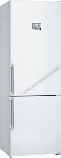 Frigorifico combi Bosch KGN49AWEP NoFrost Blanco 203cm A