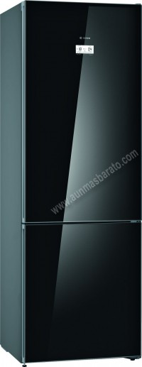 Frigorifico combi Bosch KGN49LBEA NoFrost Cristal negro 203cm